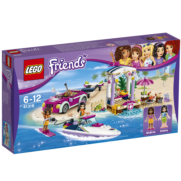Image of Andreas speedbåd-transporter - 41316 - LEGO Friends (41316)
