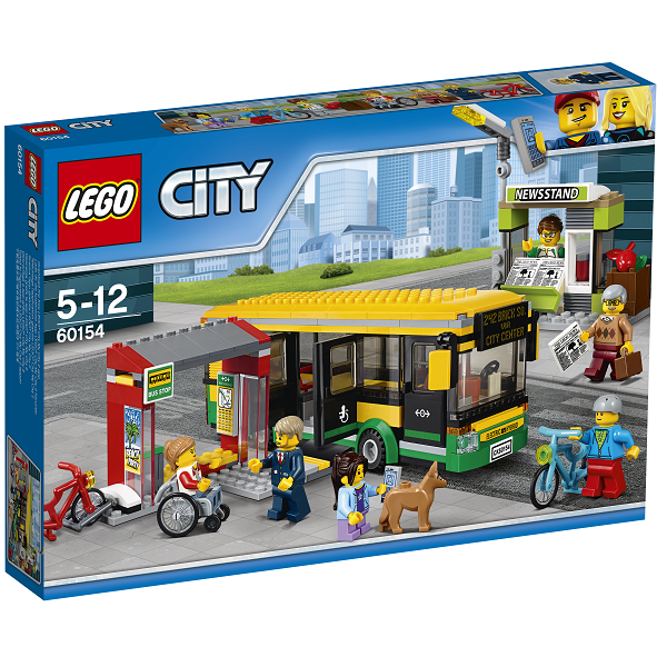 Image of Busstation - 60154 - LEGO City (60154)
