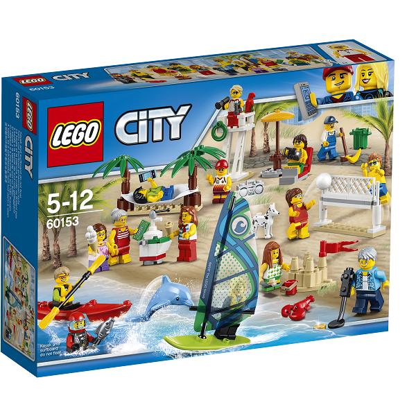 Image of Figursæt - sjov ved stranden - 60153 - LEGO City (60153)