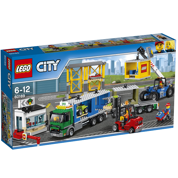 Image of   Fragtterminal - 60169 - LEGO City