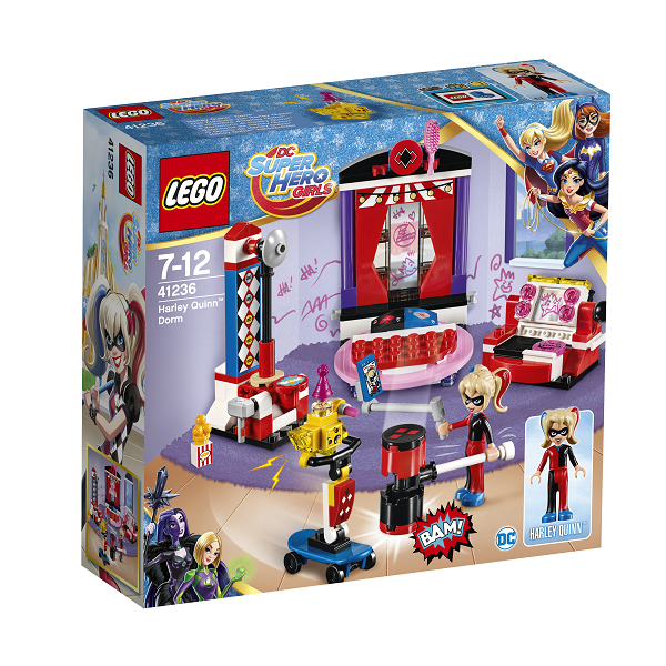 Harley Quinns værelse - 41236 - LEGO DC Super Hero Girls