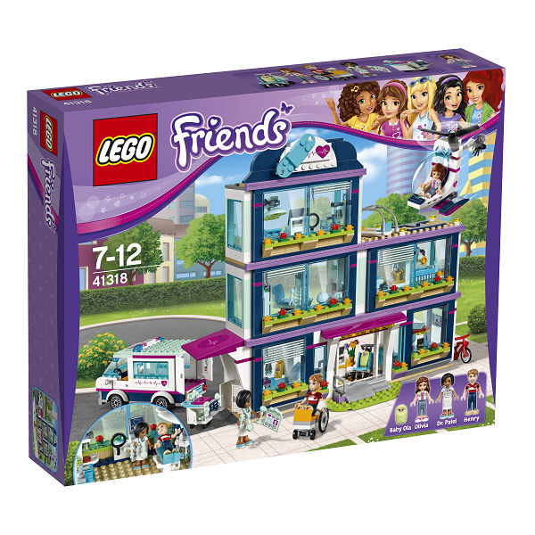 Image of Heartlake hospital - 41318 - LEGO Friends (41318)