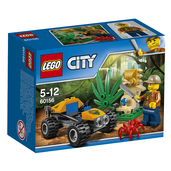 Image of   Junglebuggy - 60156 - LEGO City