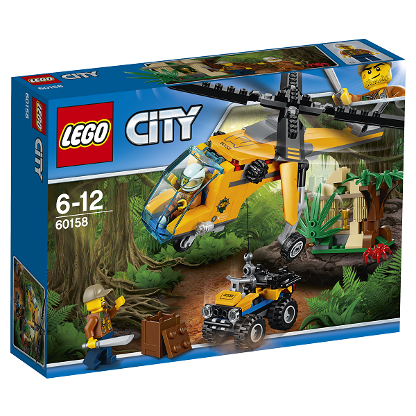 Image of   Junglefragthelikopter - 60158 - LEGO City