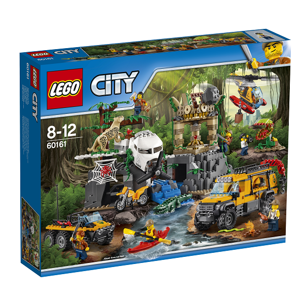 Image of   Jungleudforskning - 60161 - LEGO City