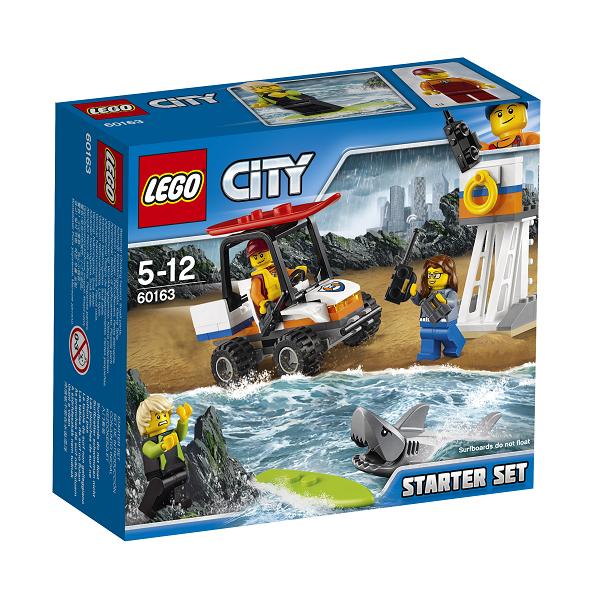 Image of Kystvagt - Startsæt - 60163 - LEGO City (60163)