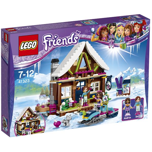 Image of   Skisportsstedets hytte - 41323 - LEGO Friends
