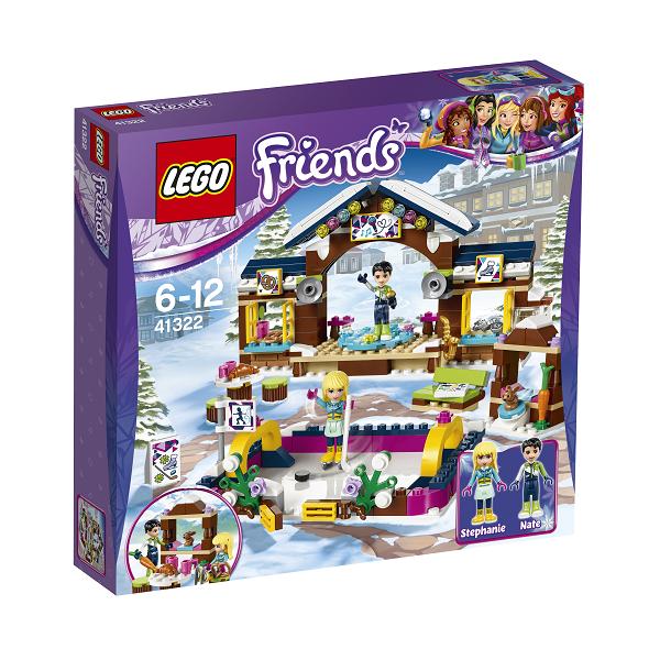 Image of   Skisportsstedets skøjtebane - 41322 - LEGO Friends