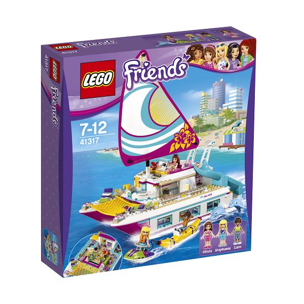 Image of   Solskinskatamaran - 41317 - LEGO Friends