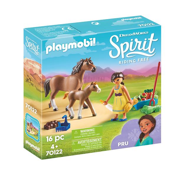 Image of   Pru med hest og føl - PL70122 - PLAYMOBIL Spirit