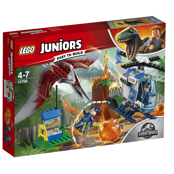 Image of Pteranodon-flugt - 10756 - LEGO Juniors (10756)