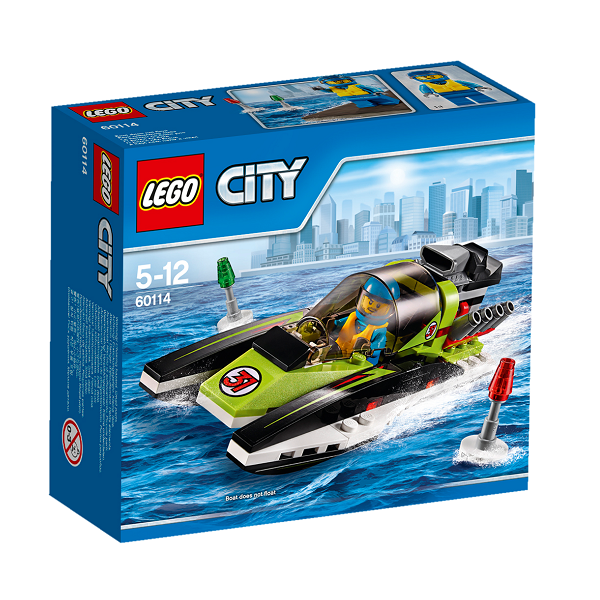 Image of Racerbåd - 60114 - LEGO City (60114)