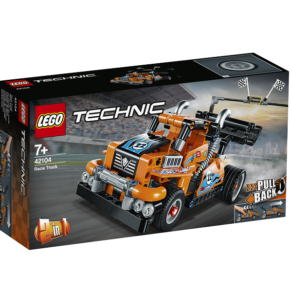Image of   Racertruck - 42104 - LEGO Technic