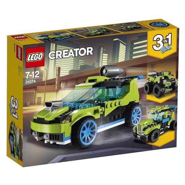 Image of Raket-rallybil - 31074 - LEGO Creator (31074)