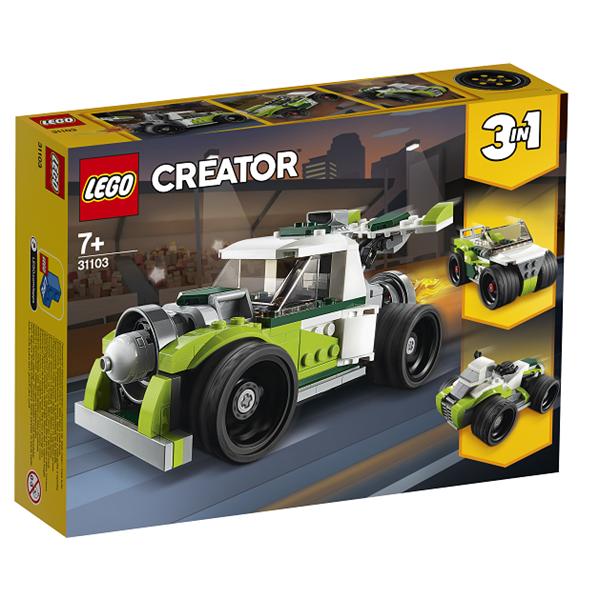 Image of Raketbil - 31103 - LEGO Creator (31103)