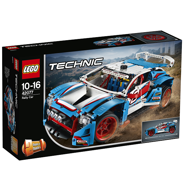Image of Rallybil - 42077 - LEGO Technic (42077)