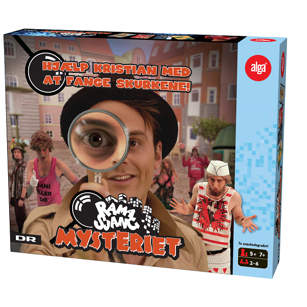 Image of   Ramasjang Mysteriespillet - Fun & Games