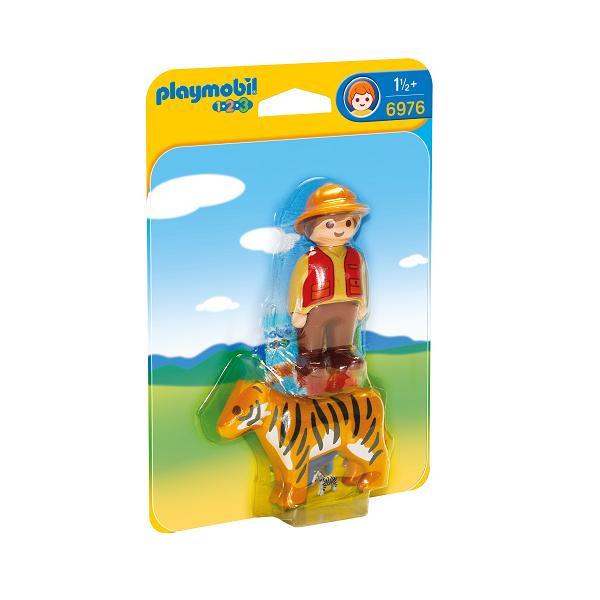 Image of Ranger med tiger - PL6976 - PLAYMOBIL 1.2.3 (PL6976)