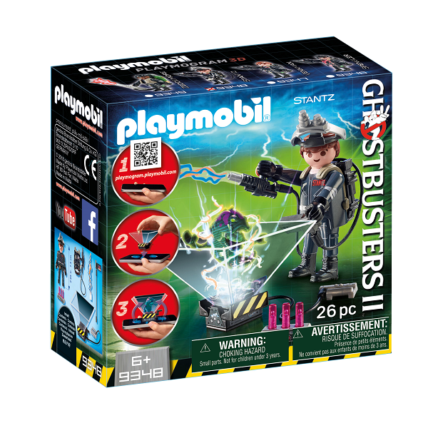 Image of Ghostbuster Raymond Stantz - 9348 - PLAYMOBIL Ghostbusters (PL9348)