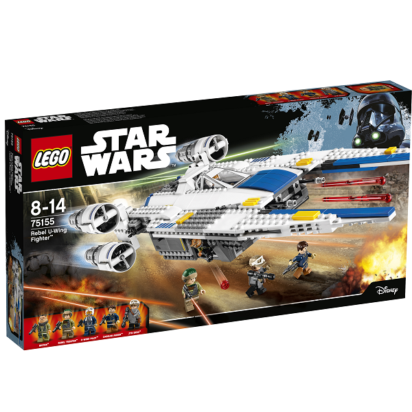 Image of Rebel U-wing Fighter - 75155 - LEGO Star Wars (75155)