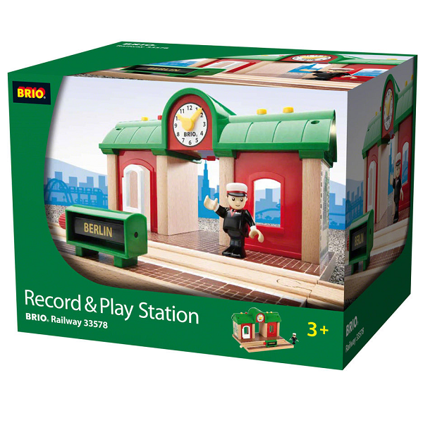 Image of Record & Play station - 33578 - BRIO Tog (33578)