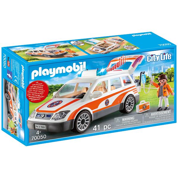 Image of   Redningsbil med sirene - PL70050 - PLAYMOBIL City Life