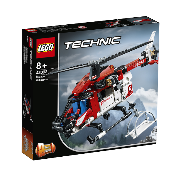 Image of Redningshelikopter - 42092 - LEGO Technic (42092)