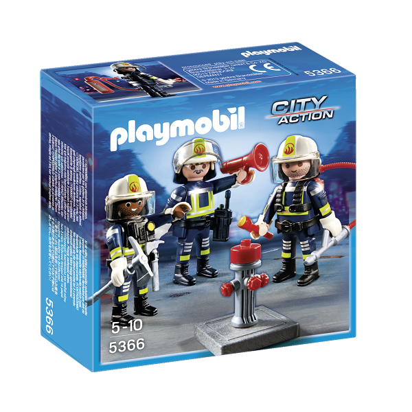 Image of Redningshold - 5366 - PLAYMOBIL City Action (PL5366)