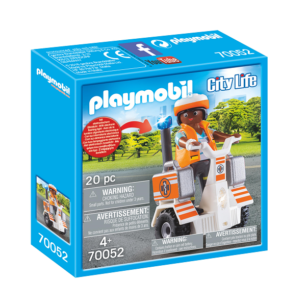 Image of Redningssegway - PL70052 - PLAYMOBIL City Life (PL70052)