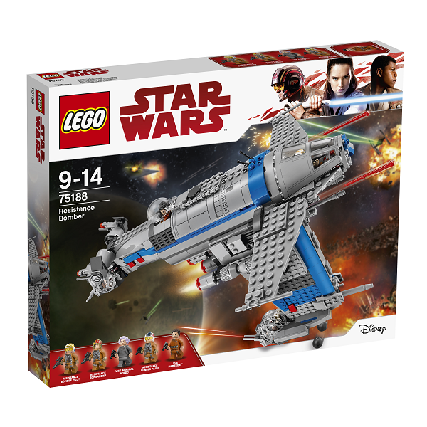 Resistance Bomber - 75188 - LEGO Star Wars