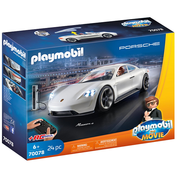Image of Rex Dashers Porsche Mission E - PL70078 - PLAYMOBIL The Movie (PL70078)