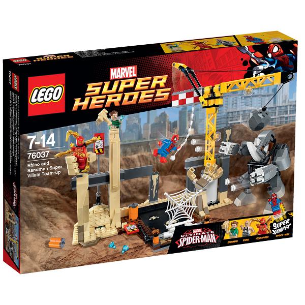 Rhino og Sandmans superskurkeangreb - 76037 - LEGO Super Heroes