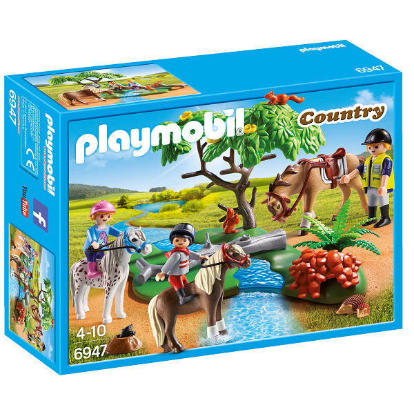 Image of Rideundervisning på pony - PL6947 - Playmobil Country (PL6947)