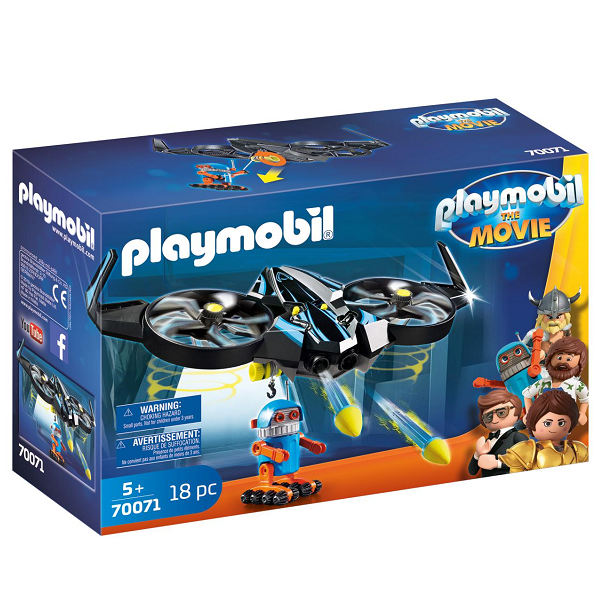 Image of   Robotitron med drone - PL70071 - PLAYMOBIL The Movie