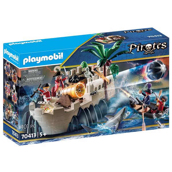 Image of Rødjakkebastion - PL70413 - PLAYMOBIL Pirates (PL70413)