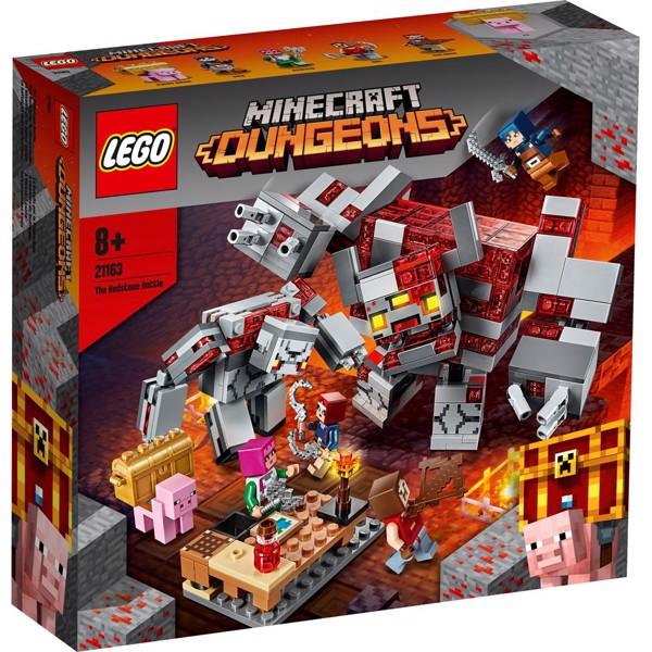 Image of Rødstensslaget - 21163 - LEGO Minecraft (21163)