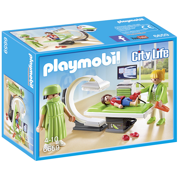 Image of   Røntgenrum - PL6659 - PLAYMOBIL City Life