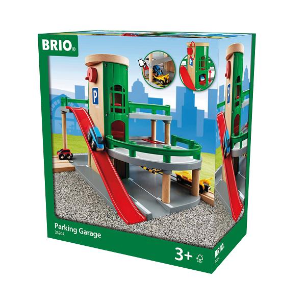 R&R parkeringshus - BRIO