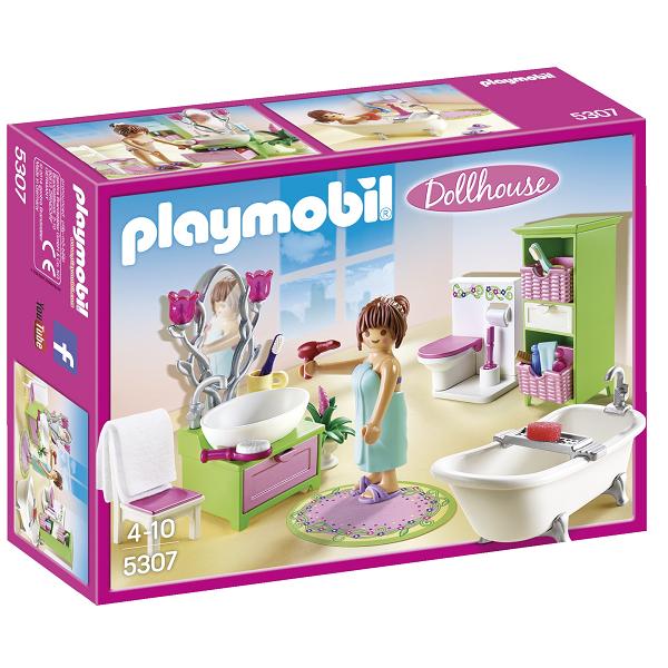 Image of Romantisk badeværelse - 5307 - PLAYMOBIL Dollhouse (PL5307)
