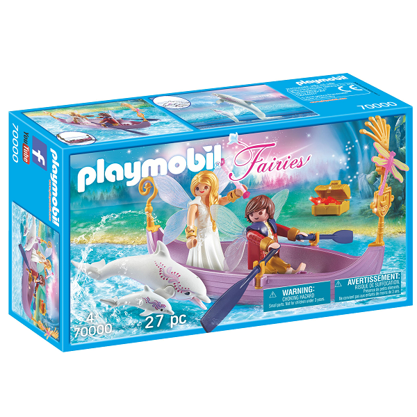 Image of Romantisk febåd - PL70000 - PLAYMOBIL Fairies (PL70000)