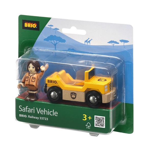 Safari Bil og figur - 33723 - BRIO Tog