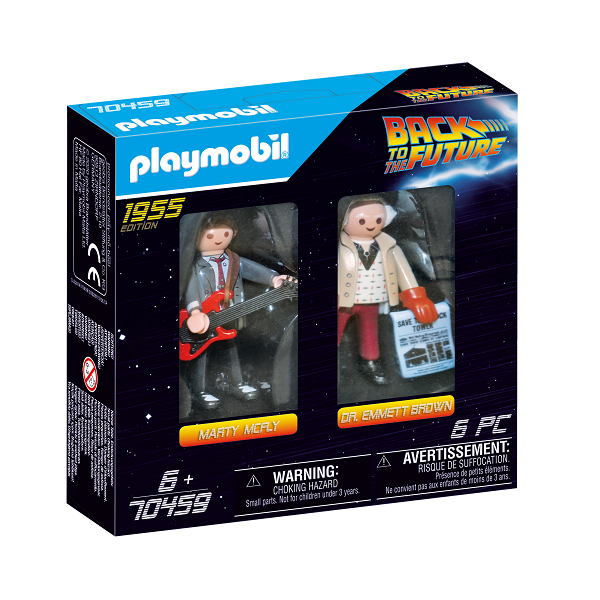 Image of Back to the Future samlefigur Dr. Emmett Brown - PL70459 - PLAYMOBIL Back to the future (PL70459)