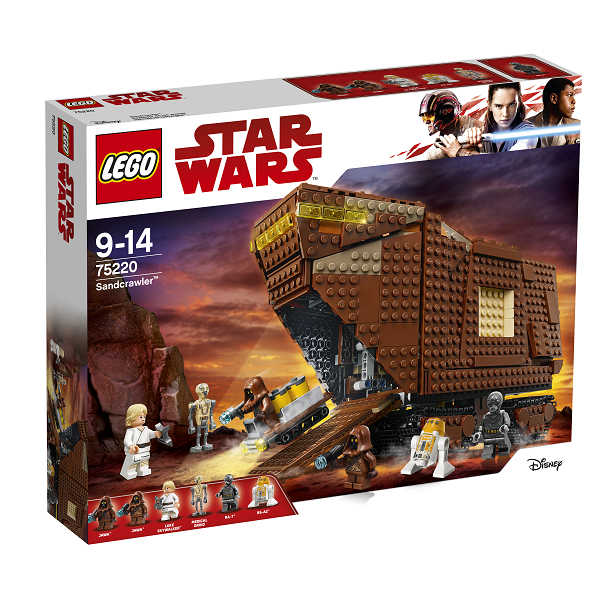 Image of Sandcrawler - 75220 - LEGO Star Wars (75220)