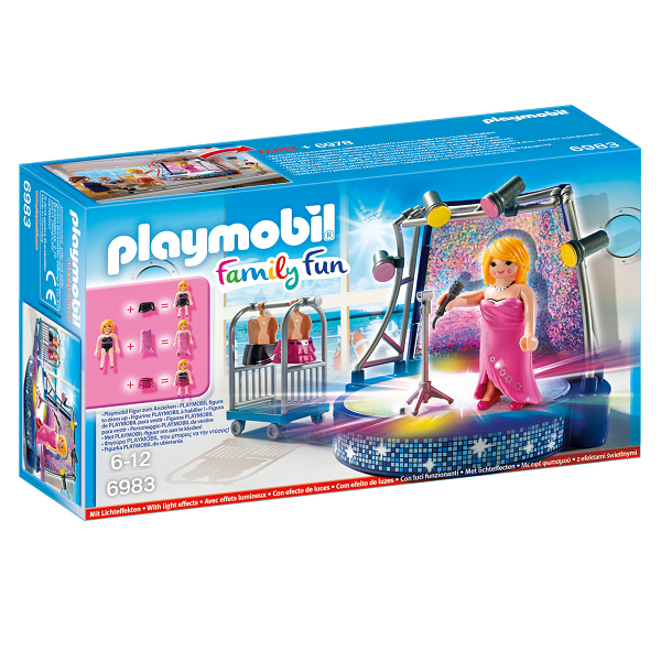 Image of Sanger med scene - PL6983 - PLAYMOBIL Family Fun (PL6983)