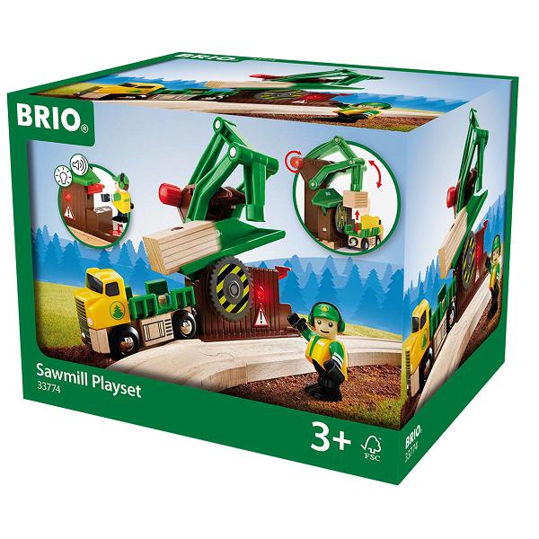 Savværk, tilbehørssæt - 33774 - BRIO