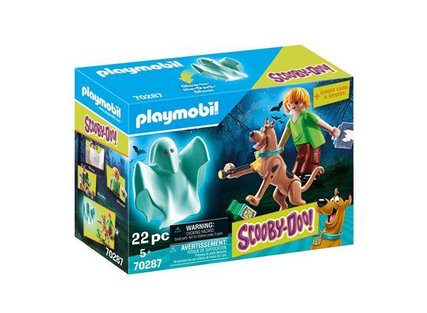 Image of Scooby & Shaggy med spøgelse - PL70287 - PLAYMOBIL Scooby Doo (PL70287)