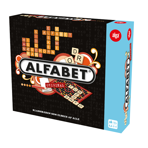 Image of   Alfabet (Scrabble) - Fun & Games