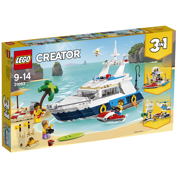 Sejleventyr - 31083 - LEGO Creator