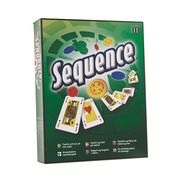 Image of Sequence The Board Game - Fun & Games (NOR7002)