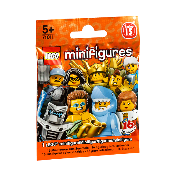 Image of Serie 15 - 71011 - Lego Minifigures (71011)